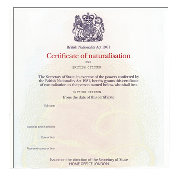HMRC Confirmation of Residence Apostille Service