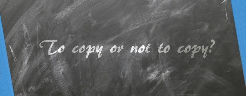 Original or Copy?