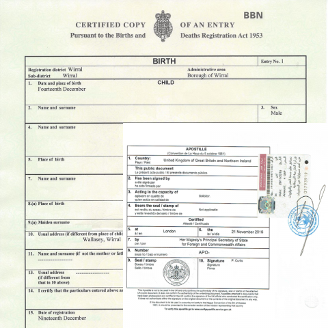 how to get apostille in uk